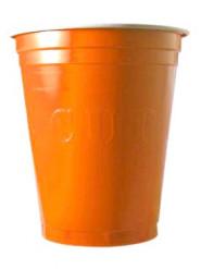 20 gobelets américain Original cup orange
