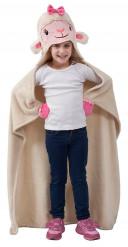 Plaid à capuche enfant Disney Docteur la peluche™