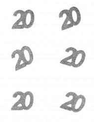 Confetti anniversaire 20 ans