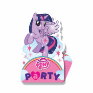 8 Cartes d'invitation Mon petit poney™