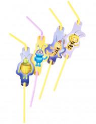 8 Pailles Maya l'abeille™