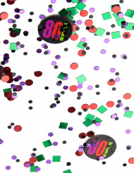 Confettis anniversaire 80 ans