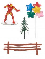 Décorations pour gâteau Iron Man™