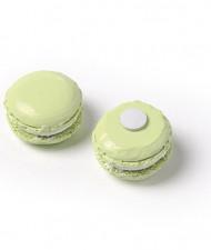 6 Macarons résine anis adhésif