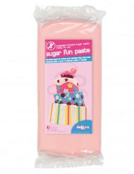 Pâte à sucre sans gluten rose 250 g