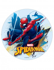 Disque en sucre 16 cm Spiderman™