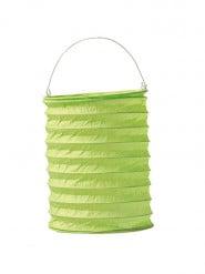 Lampion vert anis 13 x 20 cm