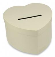 Urne cartonnée coeur kraft naturel