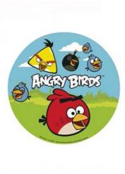 Disque en sucre 16 cm Angry birds™