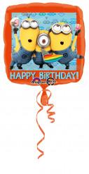 Ballon aluminium Minions™ 43 cm