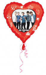 Ballon en aluminum One Direction ™ 43 cm