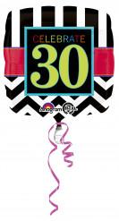 Ballon aluminum 30 ans Celebrate your Bithday