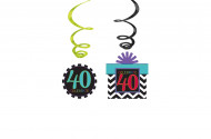 12 Suspensions 40 ans Celebrate your birthday