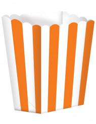 5 Pots à Popcorn orange
