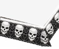 Nappe plastique têtes de morts