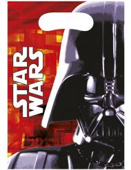 6 Sacs cadeaux Dark Vador Star Wars™