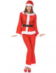 Déguisement Mère Noël adulte pantalon