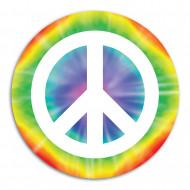 Décoration cartonnée Peace 34.5 cm