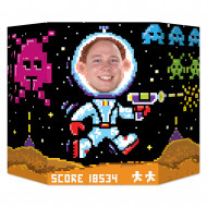Passe tête 8-Bit années 80's
