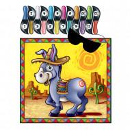 Jeu de fête Queue de l'âne