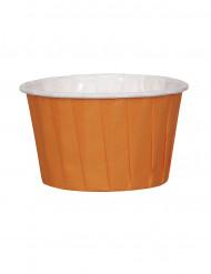 16 Petits pots en papier orange