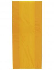 30 Sacs cadeaux en plastique Orange Halloween 28 x 13 cm