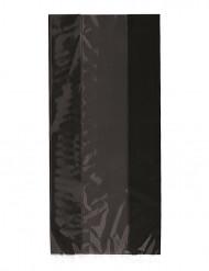 30 Sacs cadeaux en plastique Noirs Halloween 13 x 28 cm