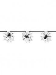 Guirlande Toile avec araignée Halloween 2.13 mètres