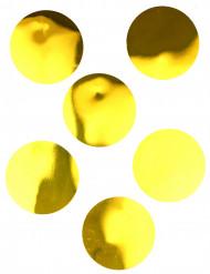 6 Confettis géants dorés