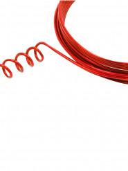 Fil aluminium souple rouge