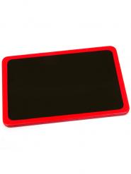 Petite ardoise rouge 8 x 5 cm