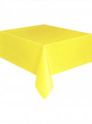 Nappe jaune doux en plastique 137 x 274 cm