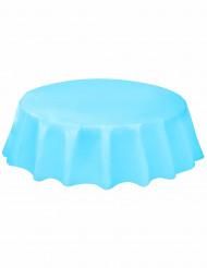 Nappe en plastique ronde Bleu pastel 214 cm