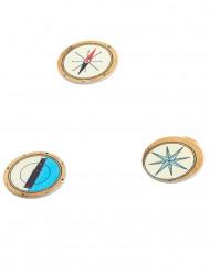 Confettis de table en bois Pirate
