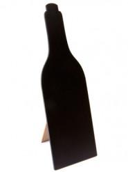 Menu ardoise bouteille de vin 25 cm