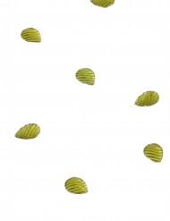 20 Confettis de table gouttes d'eau anis
