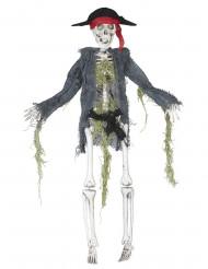 Décoration zombie pirate 42 cm Halloween