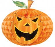 Décoration citrouille en papier Halloween 52 cm