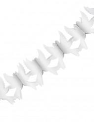 Guirlande en papier Colombes Blanches 2.2 mètres