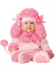 Déguisement caniche rose pour bébé - Premium