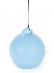 Poids ballon hélium bleu ciel