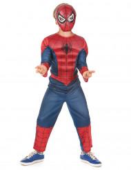 Déguisement luxe 3D EVA Spiderman™ Ultimate enfant   Coffret