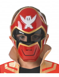 Masque Power Rangers™ rouge Super Mega Force enfant