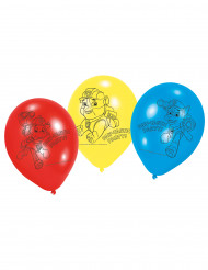 6 Ballons en Latex Pat' Patrouille™