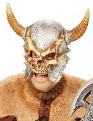 Masque intégral squelette viking adulte Halloween