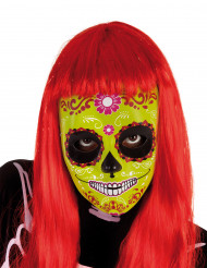 Masque fille Dia De Los Muertos Halloween