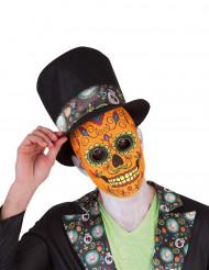 Masque luxe homme Dia De Los Muertos Halloween