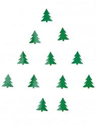 Confettis de table sapin de Noël 10 grammes