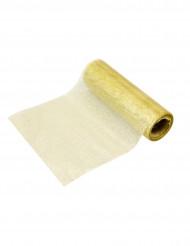 Ruban métallisé or 5 m x 10 cm