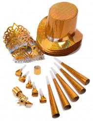 Kit cotillons dorés